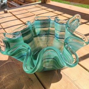 MCM Murano Glass Bowl